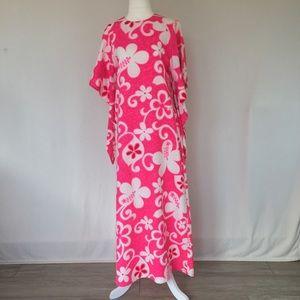 Dresses & Skirts - Vintage Hawaiian pake muu muu dress
